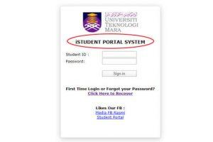 uitm student portal