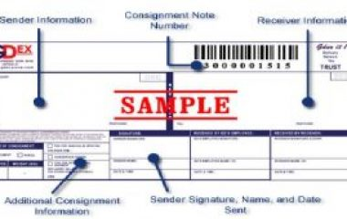 Gdex Tracking Template