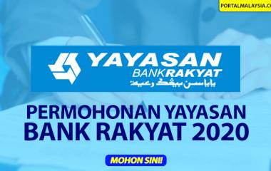 PERMOHONAN YAYASAN BANK RAKYAT 2020