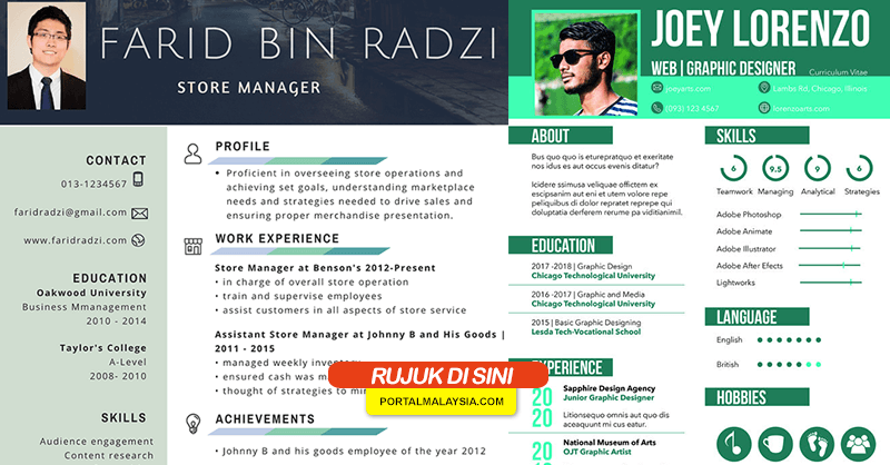 Contoh Resume Terbaik Download Portal Malaysia