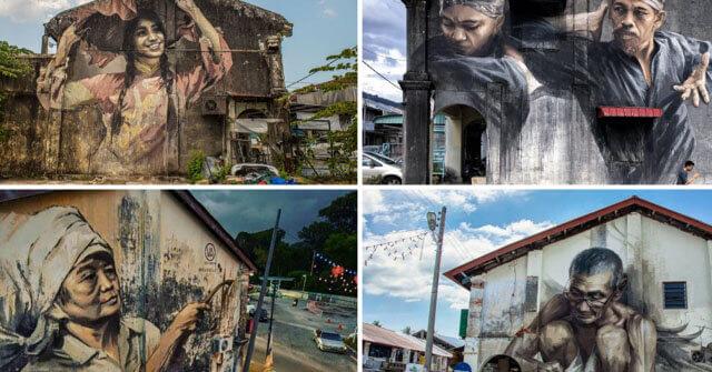 Street Art @ Balik Pulau