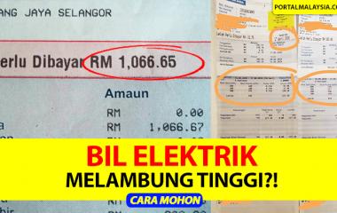 BIL ELEKTRIK MELAMBUNG TINGGI