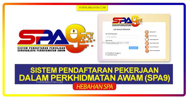 permohonan spa9 online
