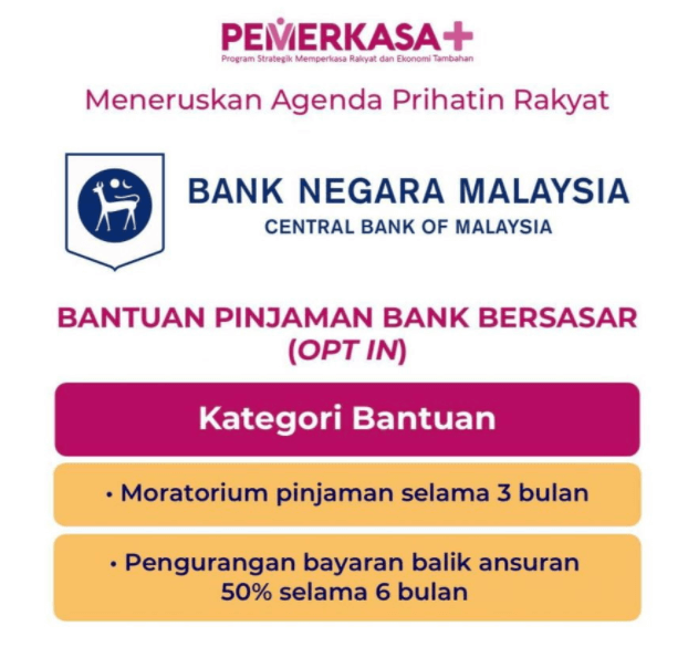 moratorium bank pinjaman 3 bulan