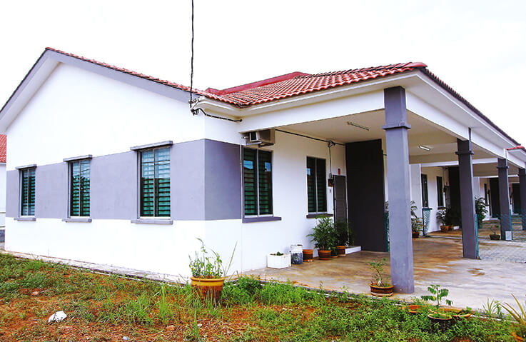 Contoh Rumah SPNB